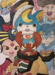 My Yo-kai watch team by Caro-Chipher