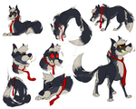 [Wolf-Haven] -Viper Sketchpage by Tarakore
