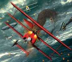 the red baron by juanex