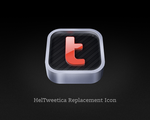 HelTweetica Replacement Icon by tuziibanez