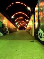 Lighted Walkway by MorganCG