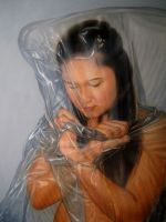 artwork 2012( plastic wrapped series ) by Ju-Vi