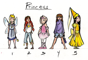 Princess Concepts by Aileen-Kailum