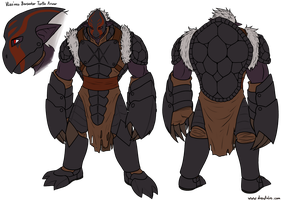 Vlozress Turtle Armor Berserker by DarkVolt