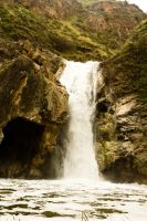 Paradise Falls, TO CA by BertLePhoto