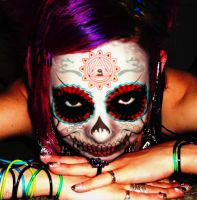 CANDY SKULL by the-aural-alchemist