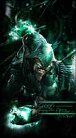 GreenArrow-Vertical Signature by TheBrocashelm