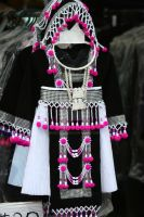Little Hmong Girl's Outfit by queenhli