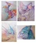 $20 Watercolor Commissions by Leashe
