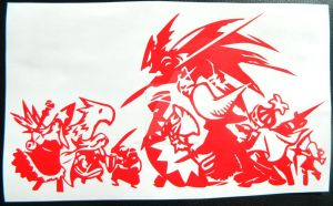 Final Fantasy Tactics: War of the Lions Decal by TeslaLollipop