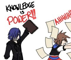 KH II FM - knowledge is power by sakurabatou