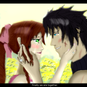 Aerith x Zack - Love is worth the wait~ by LevairAmeliaRivaille