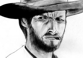 Clint Eastwood by Shagohod88
