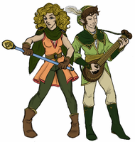 Half a Halfling Party by kiffyplaysdnd