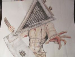Pyramid Head by System-of-a-Kaytlin