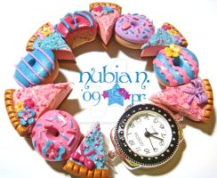 Yummy Donuts n Pies Watch by colourful-blossom