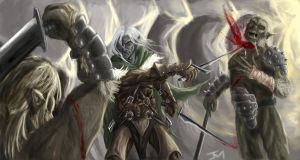 Drizzt Do'Urden by abovocipher