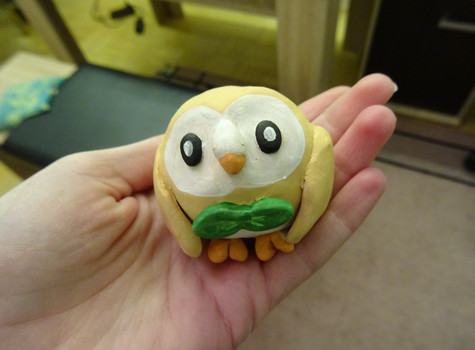 Rowlet by o0WhiteRaven0o