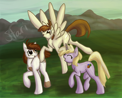Three Best Foal Friends by StariChampion