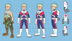 Troy Trailblazer Character Turnaround by RDComics