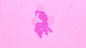 Pinkie Pie Minimalist Wallpaper by apertureninja
