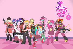 Girl Fortress 2 - Hats is Magic by Metal-Kitty