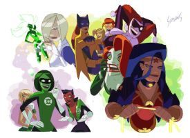 DC Gals by VonToten