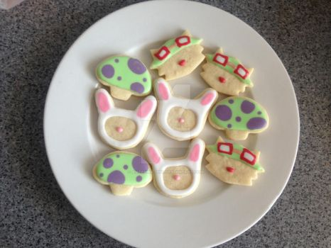 Another set of Teemo cookies! by antenna-girl