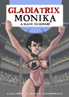 gladiatrix monika, ch1, cover by julianapostata