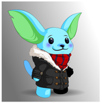 Flakes the Moglin by Tybira