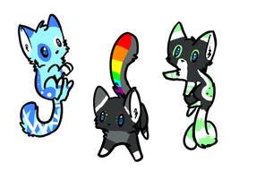 Kitten adoptables: Name your price![CLOSED] by FluffballAdopts