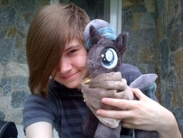 My Little Pony Oleander Plushie commission by CINNAMON-STITCH