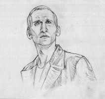 Ninth Doctor - SKETCH by Coconut-CocaCola