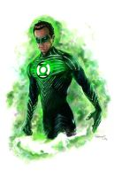 Green Lantern by vividfury