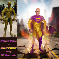 Wilfred Vidro Is WILPOWER By Ulics by zenx007