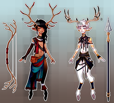 Fawn Warrior Auction (closed) by Kariosa-Adopts