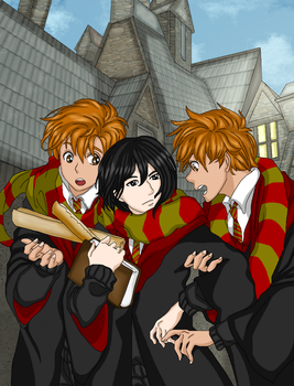 HARRY POTTER - New friends, when I was young again by DarkLordLuzifer