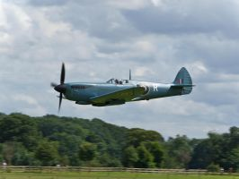 PR Spitfire Old Warden by davepphotographer