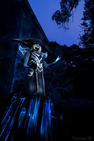Lissandra Cosplay with Lightpainting by Kaelula