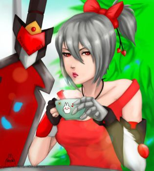 OC: leona , lets have some tea by AlphaRabbitHerder