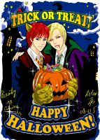 Ron, Draco's Halloween by alexzoe
