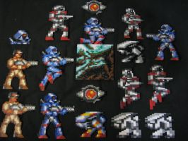 TURRICAN Sprites Collection by Buck-Chow-Simmons