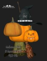 Halloween PSD Pack by briarmoon-stock