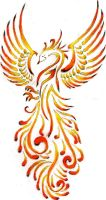 the flame bird by 9madgirl9