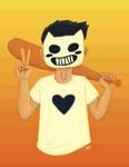 Zacharie Peace Out by DoodleStruck