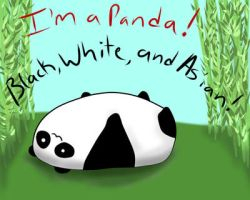 I'm a Panda by TheBlondeReaper