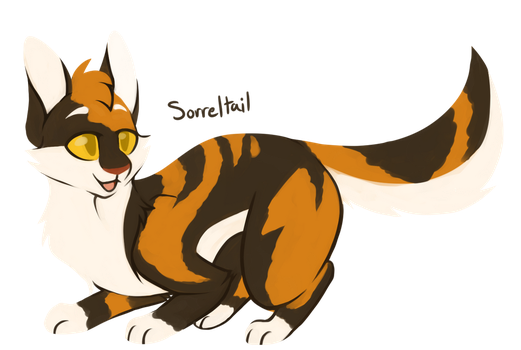[100 WARRIOR CATS CHALLENGE] #27 - Sorreltail by toboe5tails