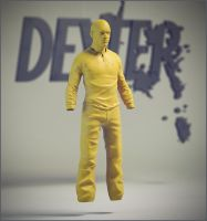 Dexter Sculpt (Work in Progress) by PatrickvanR