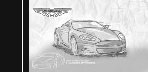- fast sketch aston martin- by TearsOfry