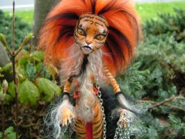 Tiger Lily (Detail) by TheIndigoButterfly